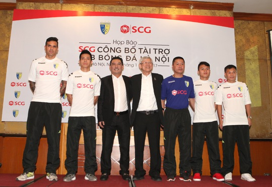Trang phục thi đấu mới của CLB Hà Nội