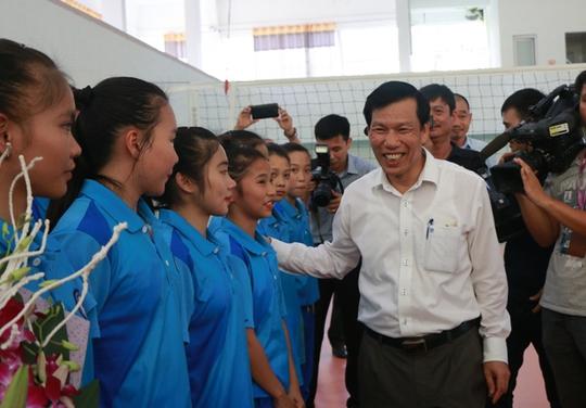 Bộ trưởng VH-TT-DL khích lệ VĐV dự SEA Games 29 - Ảnh 9.