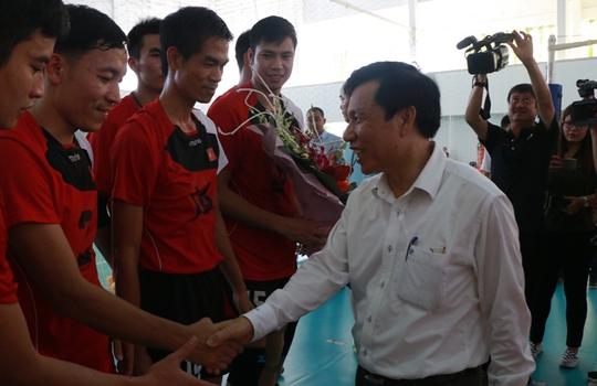 Bộ trưởng VH-TT-DL khích lệ VĐV dự SEA Games 29 - Ảnh 10.