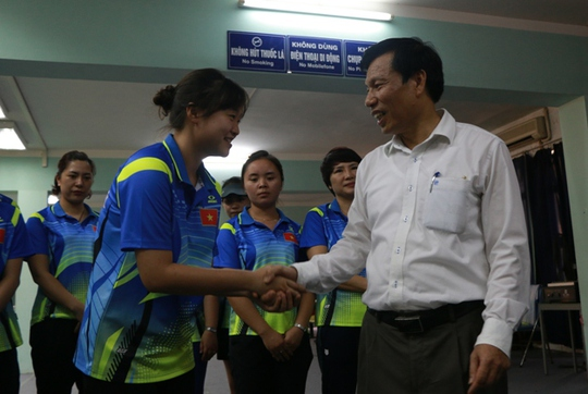 Bộ trưởng VH-TT-DL khích lệ VĐV dự SEA Games 29 - Ảnh 16.