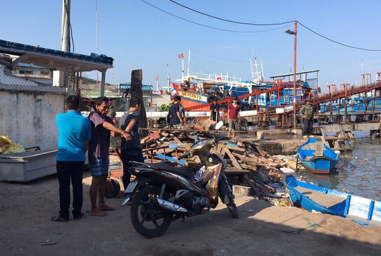 Nguyễn Văn Dũng chỉ nơi trộm chiếc xe máy