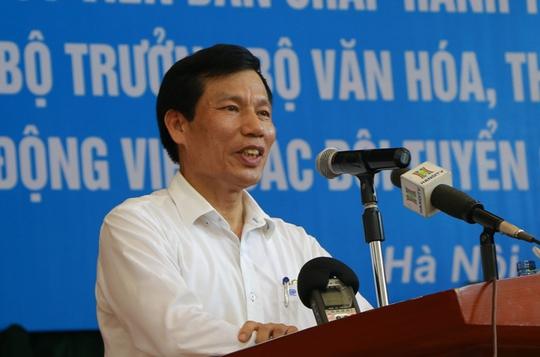 Bộ trưởng VH-TT-DL khích lệ VĐV dự SEA Games 29 - Ảnh 21.