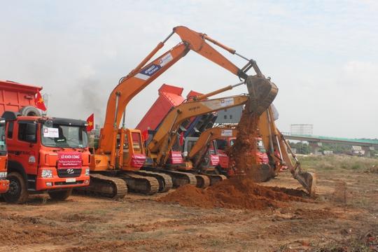 Dự kiến giai đoạn 1 của dự án sẽ hoàn thành và đưa vào sử dụng trong 2017