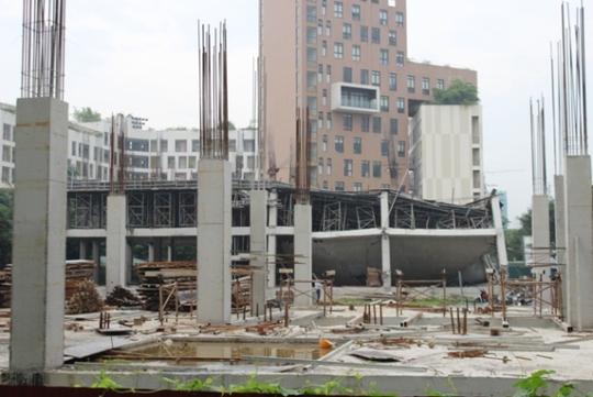 Náo loạn vì sập công trình trường mầm non 1.000 m2 - Ảnh 5.