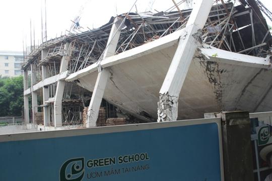 Náo loạn vì sập công trình trường mầm non 1.000 m2 - Ảnh 4.
