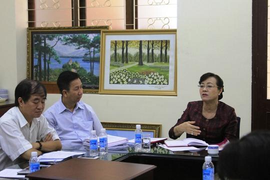 Chủ tịch HĐND TP Nguyễn Thị Quyết Tâm cho biết TP không tiếc tiền cho đầu tư, nghiên cứu khoa học công nghệ