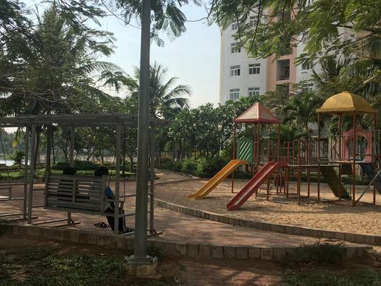 Công viên chung cư Lakeside, nơi ông Thuỷ bị tố cáo dâm ô trẻ em