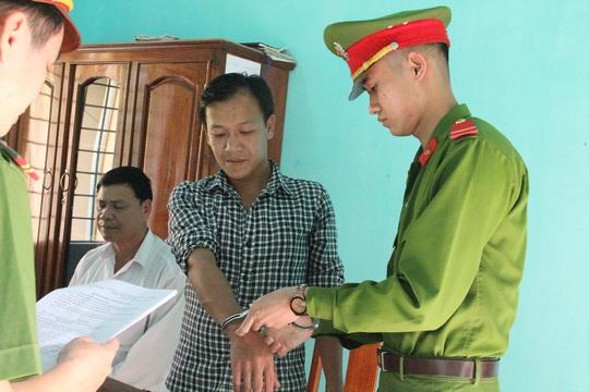 Công an huyện Núi Thành độc lệnh khởi tố bị can, bắt tạm giam tài xế Lộc
