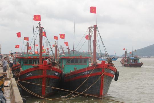 """Nghệ An: """"Cấm biển"""", gần 4.000 tàu thuyền vào nơi trú ẩn an toàn - Ảnh 2."""
