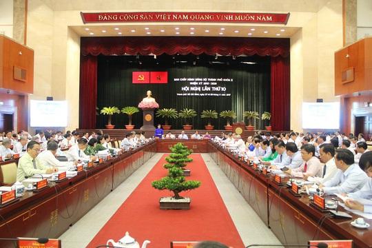 Khai mạc Hội nghị lần thứ 10 BCH Đảng bộ TP HCM khóa X - Ảnh 1.