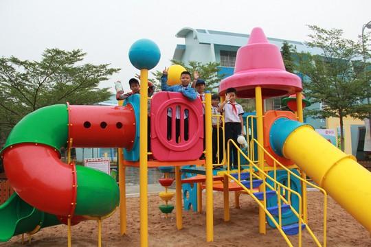 SCG xây dựng sân chơi chất lượng cao cho trẻ em tại Bà Rịa - Vũng Tàu - Ảnh 1.