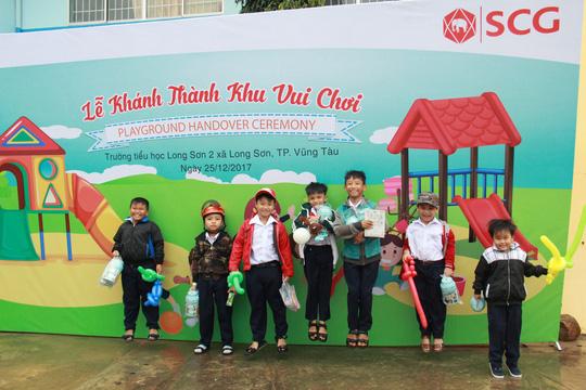 SCG xây dựng sân chơi chất lượng cao cho trẻ em tại Bà Rịa - Vũng Tàu - Ảnh 2.