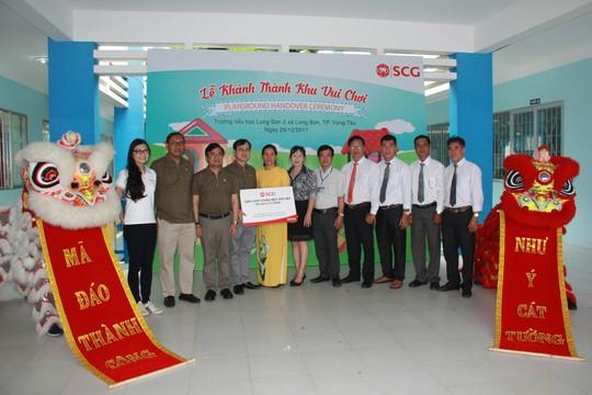 SCG xây dựng sân chơi chất lượng cao cho trẻ em tại Bà Rịa - Vũng Tàu - Ảnh 3.