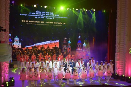 Rực rỡ đêm nghệ thuật Bài ca tháng mười Nga - Ảnh 12.