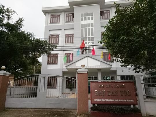 Đề nghị kỷ luật trưởng Ban Dân tộc tỉnh Quảng Ngãi - Ảnh 1.