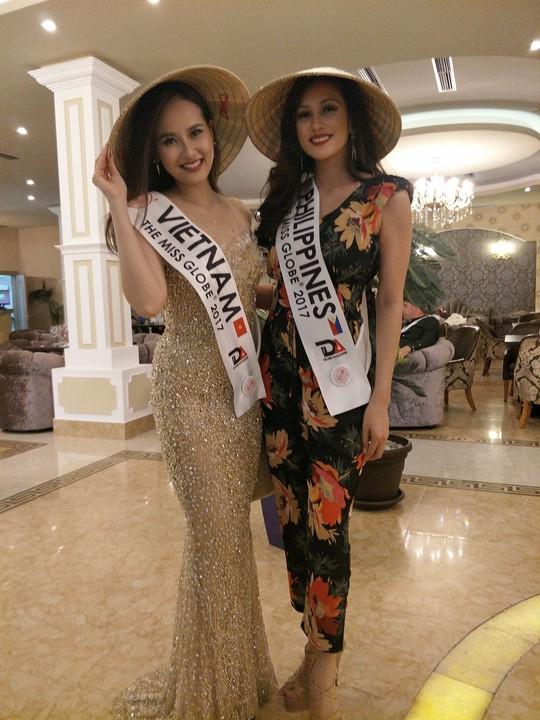 Khánh Ngân vào tốp 5 Hoa hậu Sắc đẹp Toàn cầu - Ảnh 1.