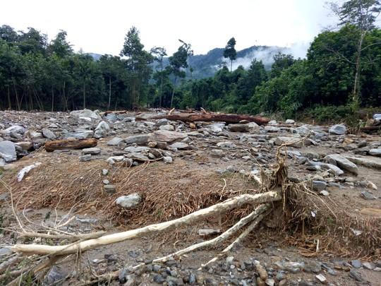 Sạt lở núi kinh hoàng, người dân 2 thôn suýt bị chôn sống - Ảnh 3.