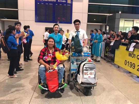 Vietnam Airlines kể chuyện phục vụ Đoàn Thể thao Việt Nam tham dự ASEAN Para Games - Ảnh 3.
