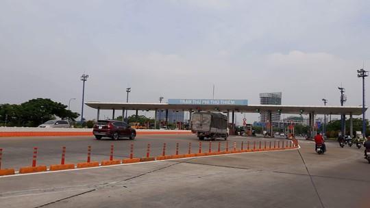 Đề xuất tháo dỡ trạm thu phí qua hầm sông Sài Gòn - Ảnh 1.