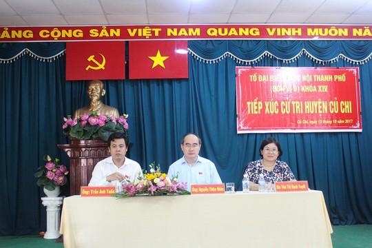 Cử tri huyện Củ Chi bức xúc về dự án Sài Gòn Safari - Ảnh 1.