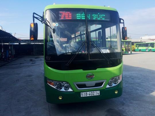 TP HCM tiếp tục thay xe buýt - Ảnh 1.