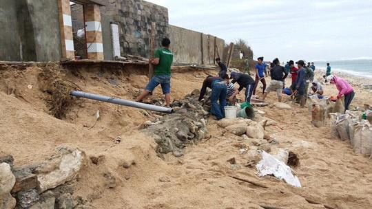Gió mạnh dần, Côn Đảo đón 1.000 người tránh bão số 16 (Tembin) - Ảnh 13.