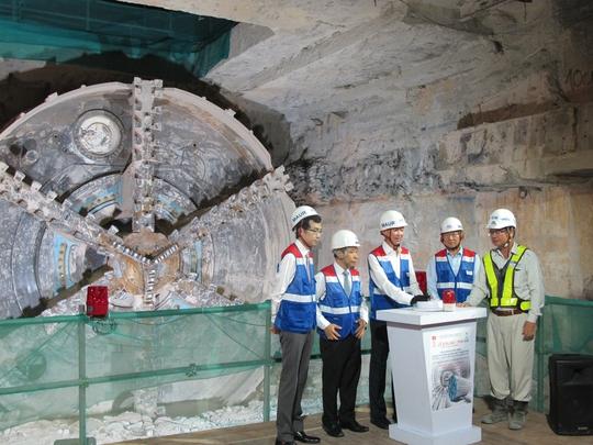 Siêu robot đào hầm đã về ga Ba Son - Ảnh 1.