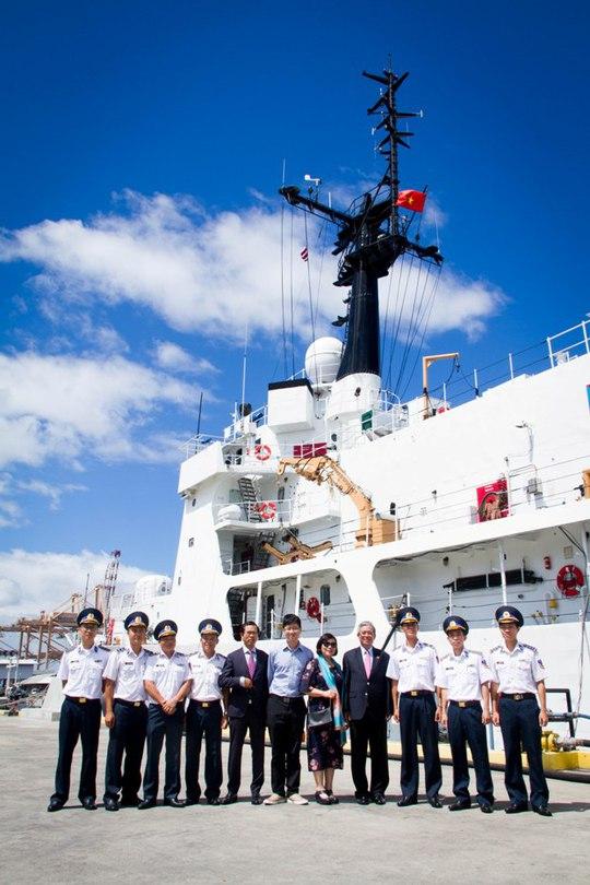 Mỹ bàn giao tàu Cảnh sát biển cỡ lớn cho Việt Nam - Ảnh 3.