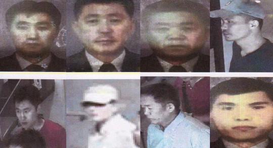 Hình ảnh 4 nghi phạm Triều Tiên. Ảnh: Nknew