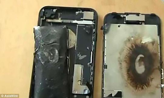 Pin nạp quá tải phù, phát nổ là nguyên nhân hàng đầu được xác nhận trong các vụ cháy nổ ở điện thoại.
