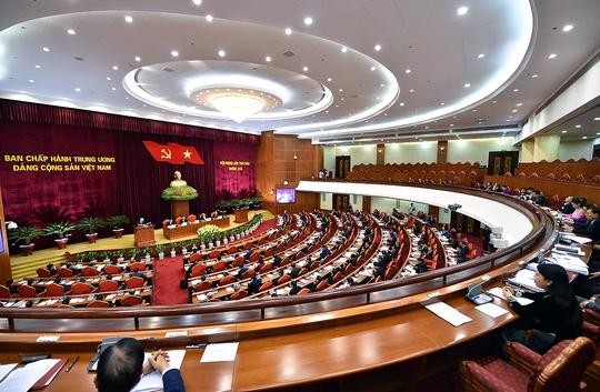 Hội nghị Trung ương thảo luận Đề án sắp xếp bộ máy hệ thống chính trị - Ảnh 1.