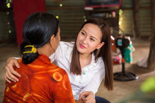Hoa hậu Hoàn cầu Khánh Ngân được bổ nhiệm Đại sứ Hòa bình - Ảnh 2.