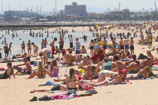 Biến đổi khí hậu đe dọa nướng nước Úc - Ảnh 1.