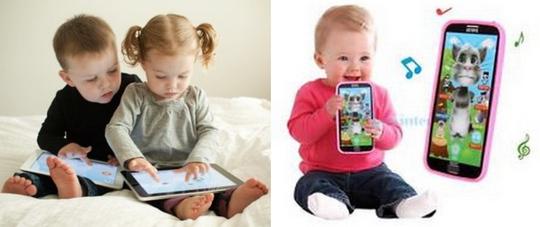 Tác hại của màn hình cảm ứng đối với trẻ nhỏ - Ảnh 1.