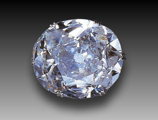 Viên kim cương gây tranh cãi Koh-i-Noor. Ảnh: Gem Select