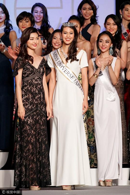 Cận cảnh nhan sắc Tân Hoa hậu Hoàn vũ Nhật Bản - Ảnh 2.