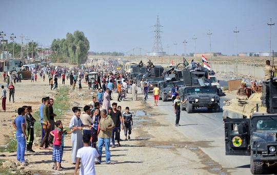 Đấu tên lửa tại khu tự trị người Kurd ở Iraq? - Ảnh 3.