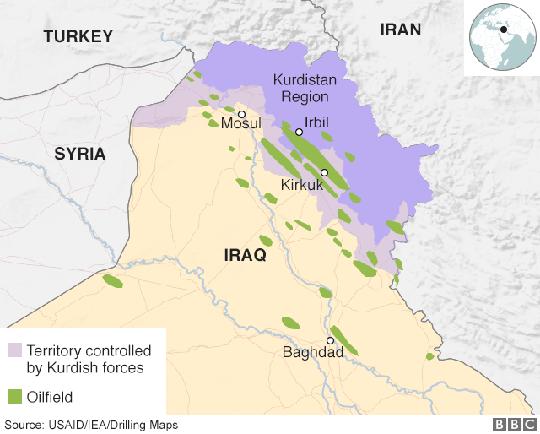 Đấu tên lửa tại khu tự trị người Kurd ở Iraq? - Ảnh 4.