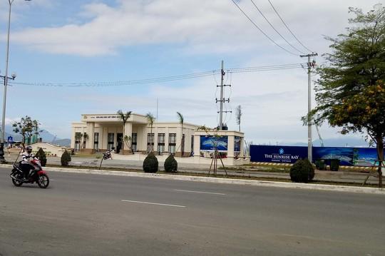 Dự án vừa bị Thanh tra Sở Xây dựng TP Đà Nẵng tạm dừng thi công