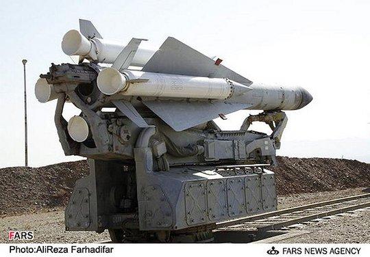 Hệ thống tên lửa đất đối không S-200. Ảnh: FARS