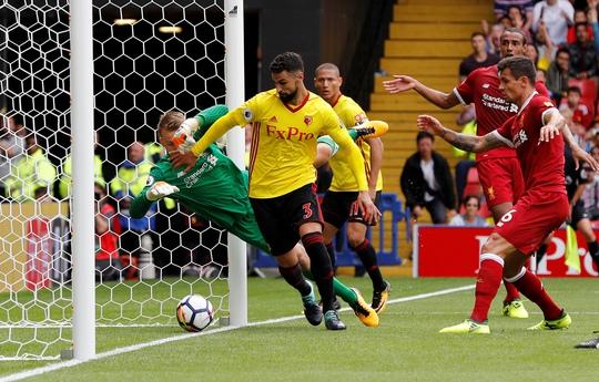 Liverpool vuột chiến thắng phút bù giờ - Ảnh 1.