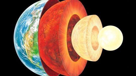 Lõi Trái Đất chủ yếu chứa sắt và niken Ảnh: BBC