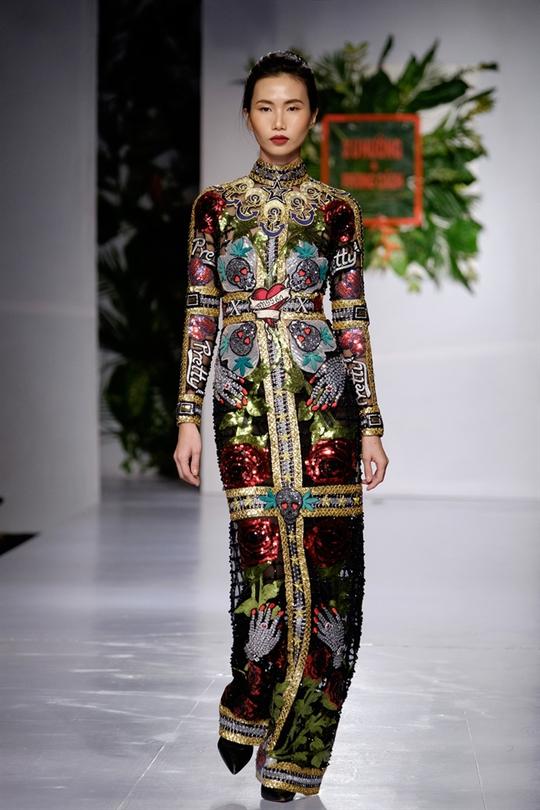 Sắc màu xuân hè thời trang Việt - Ảnh 11.