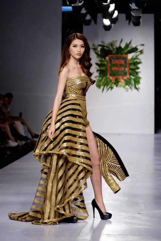 Sắc màu xuân hè thời trang Việt - Ảnh 12.