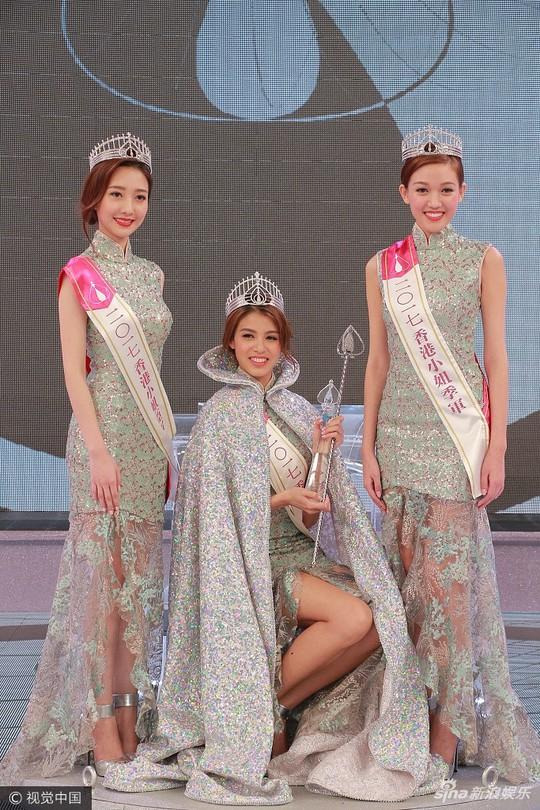 Cận cảnh nhan sắc Tân Hoa hậu Hồng Kông 2017 - Ảnh 3.