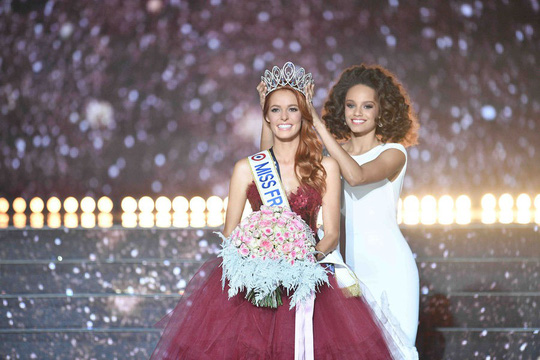 Cận cảnh nhan sắc tân Hoa hậu Pháp - Ảnh 4.