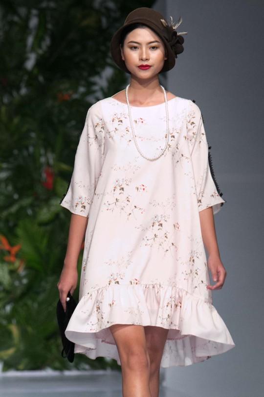 Sắc màu xuân hè thời trang Việt - Ảnh 3.