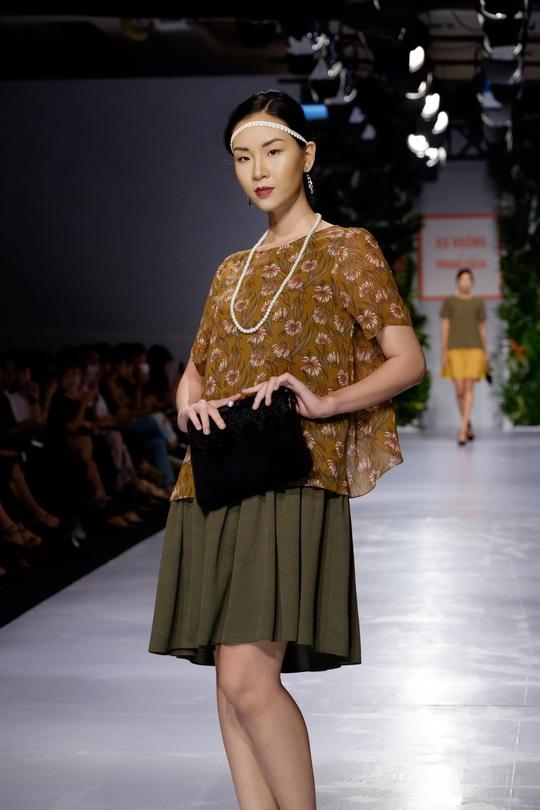 Sắc màu xuân hè thời trang Việt - Ảnh 4.