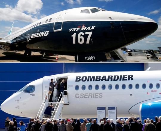 Vụ Bombardier kéo Mỹ, Canada vào chiến tranh thương mại ? - Ảnh 1.
