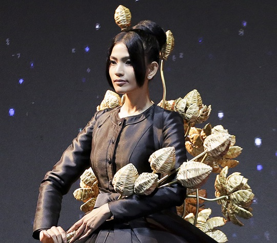 Trương Thị May vác cả cánh đồng sen lên sân khấu - Ảnh 2.